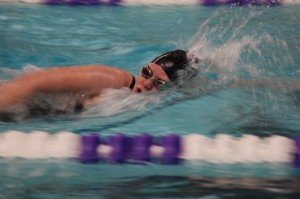 Girls' swimming on track for section performance