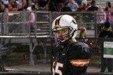 Park football's section run ends quickly