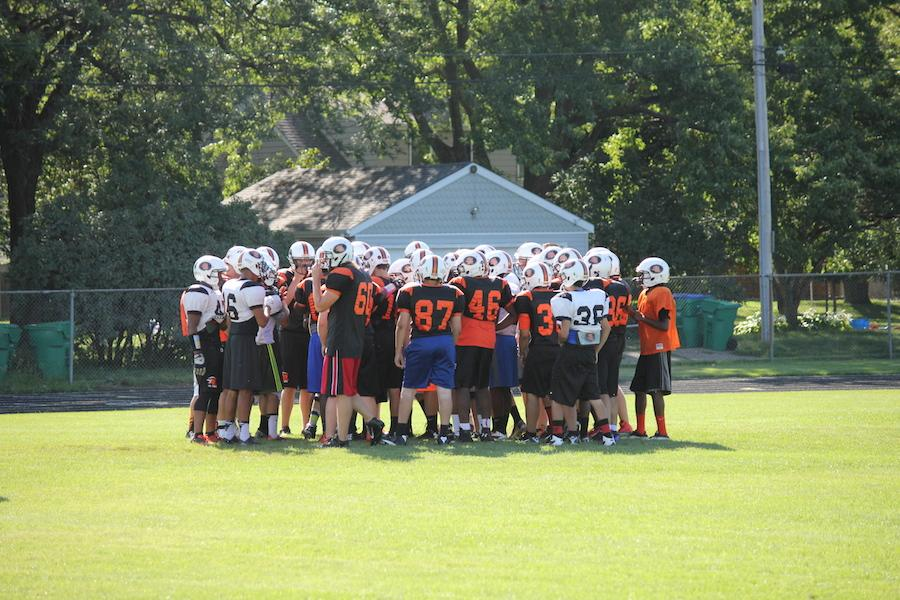 Football team looking to secure first season win