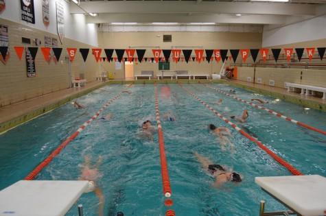Girls' swimming takes on Chanhassen