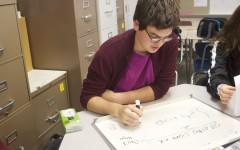 Home meet brings advancement for the math team