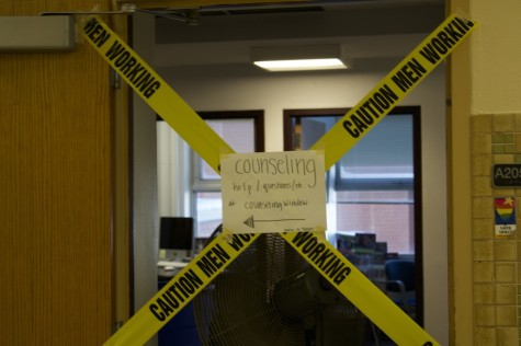 Counseling office closed for the day