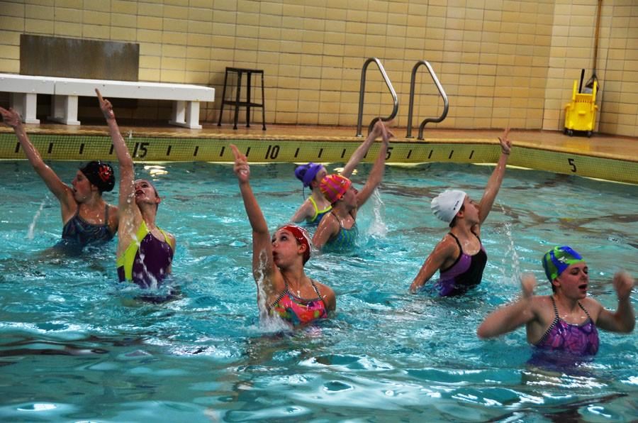 Synchro swims into state