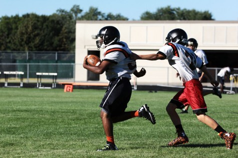 Football modifies defensive structure
