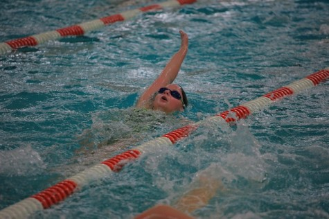 Swimmers go head to head
