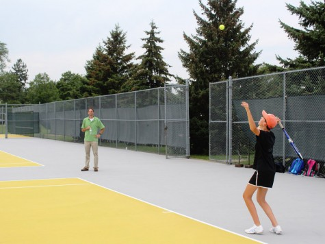 Girls' tennis team works to build the love