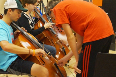 Orchestra prepares for special concert
