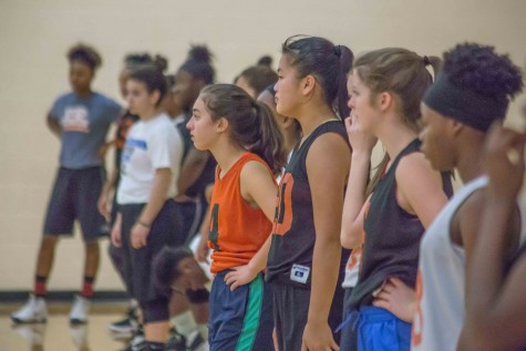 Girls' basketball dedicates time to hard work