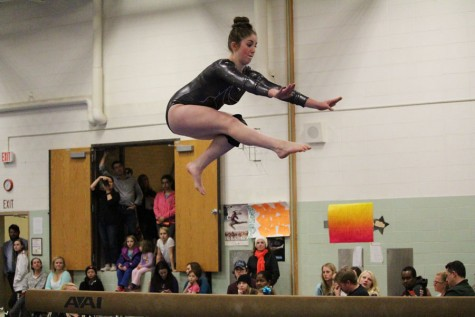 Girls' gymnastics strives for victory after loss