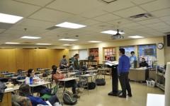 Adviser Tzvi Kupfer brings students together