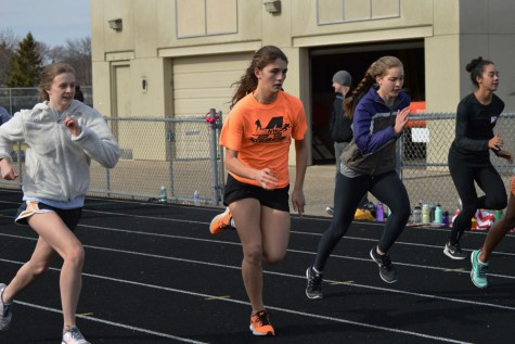 Athletes run for more than physical benefits