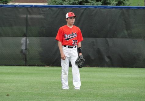 Athlete aspires to play professional baseball