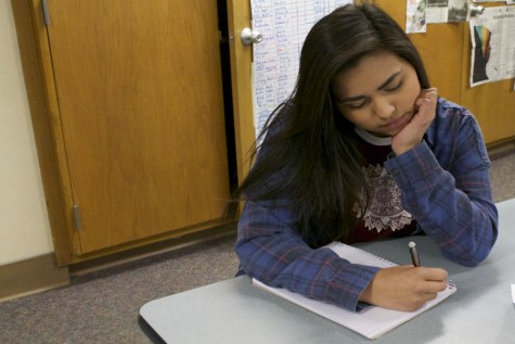 Freshman faces struggles in school