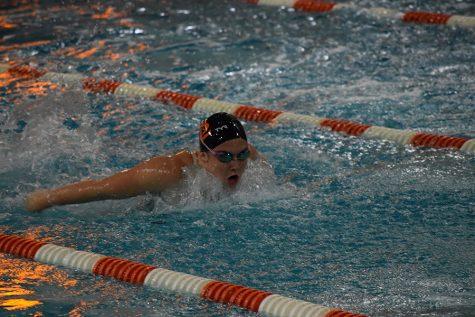 Park girls swim against Richfield