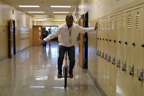 Unicycling brings motivation
