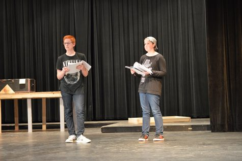 Actors dive into fall musical rehearsals
