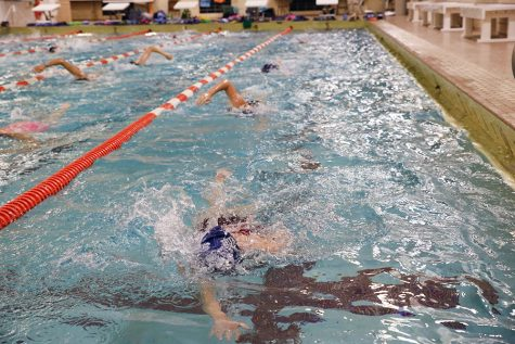 Girls' swimming prepares for first home meet