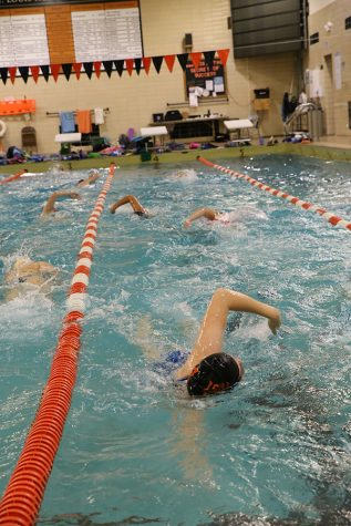 Positivity energizes swimmers