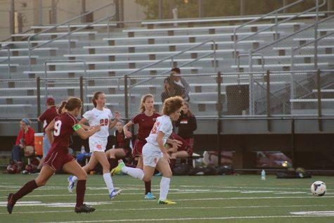 Girls' soccer celebrates senior night