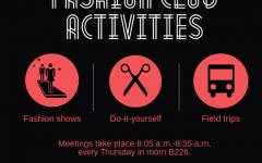 Fashion club activities