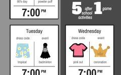 Homecoming week activities