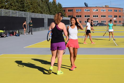 Girls' tennis begins Sections