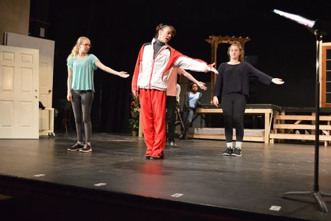 Fall musical makes progress during rehearsal