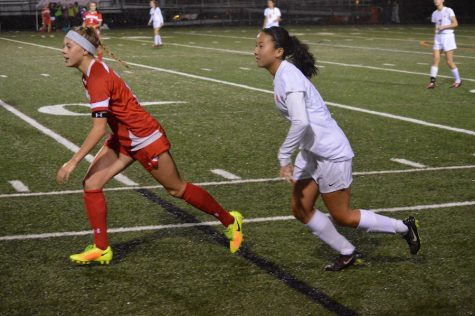 Girls' soccer clinches conference title