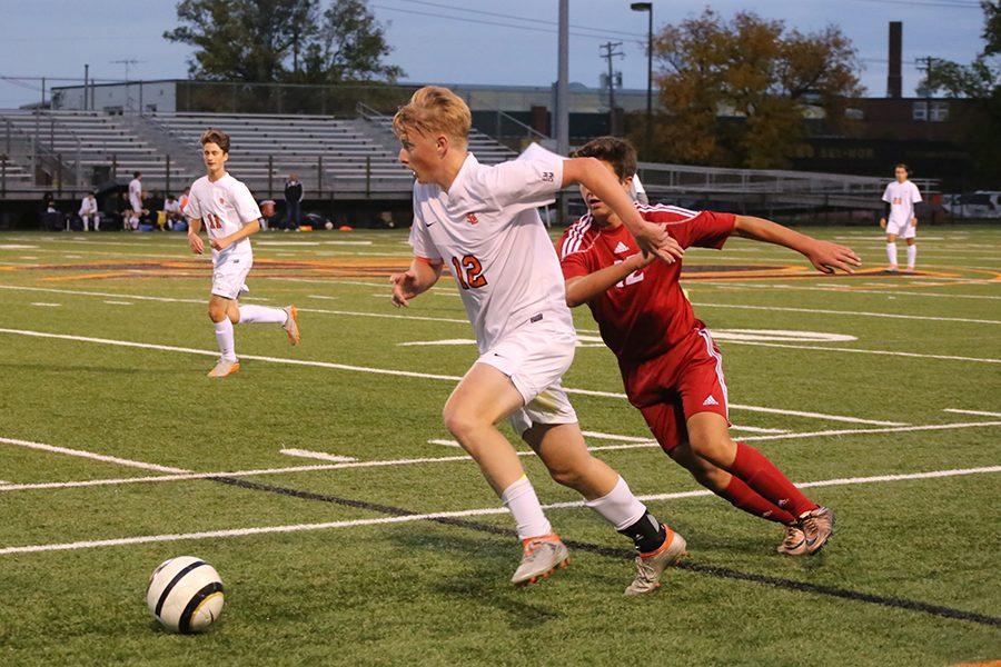 Boys' soccer works to fight numerous injuries