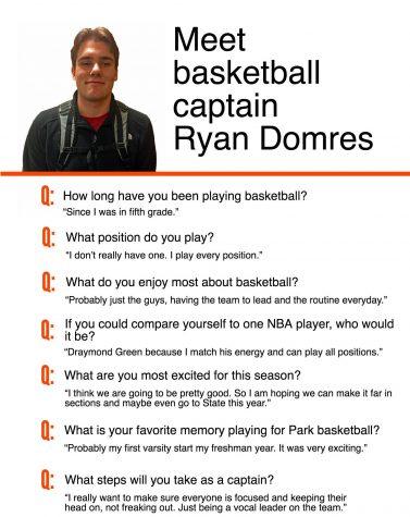 Meet basketball captain Ryan Domres