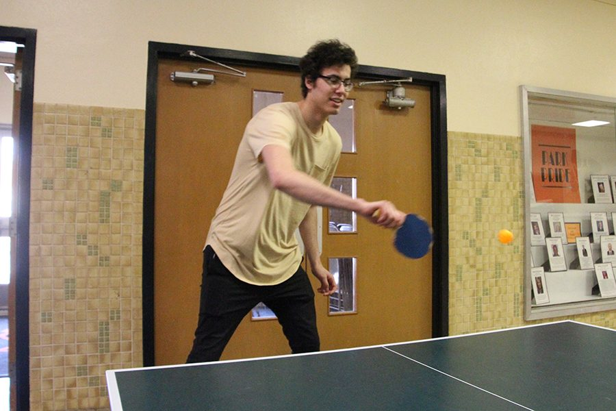 Ping pong club begins playing tournaments