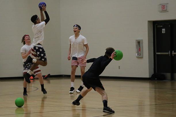 Student Council runs Sno Daze dodgeball tournament