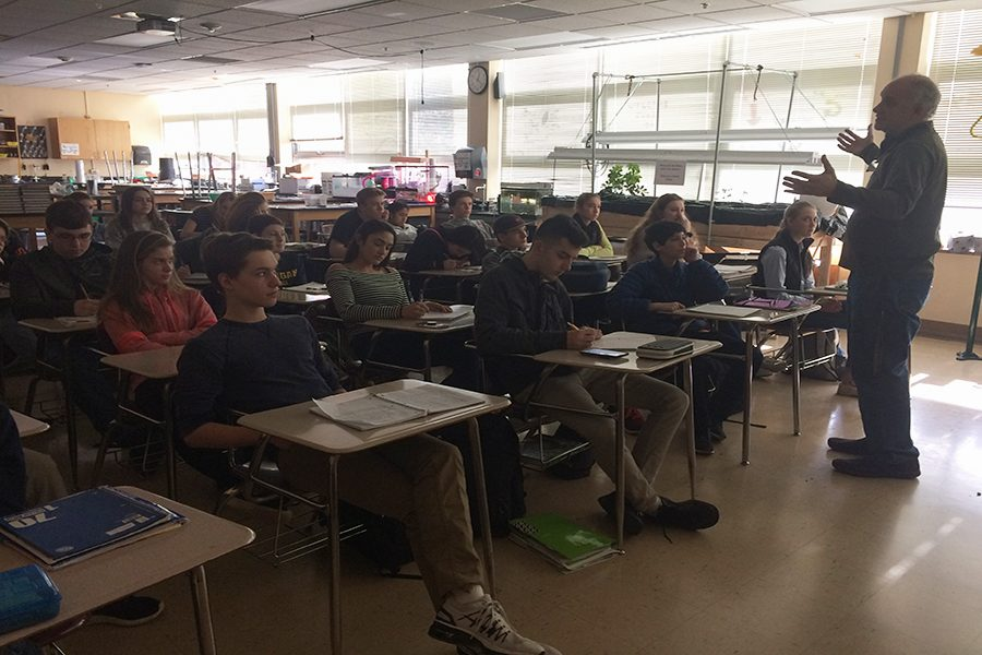 Science department introduces new IB elective course