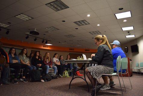 Girls' softball team hosts informational meeting