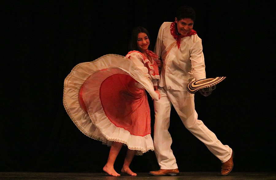 Multicultural show displays diversity