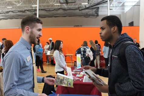 College fair provides opportunity to survey post-secondary options