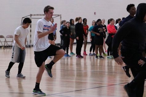 Weather fails to deter track team