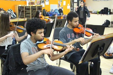 Orchestra going on Tour of Schools