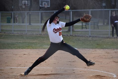 Girls' softball loses first game to Bloomington-Jefferson
