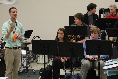 Band performs at Edina concert contest