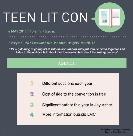 Teen Lit Con to engage readers in discussions, activities