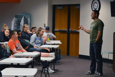 Athletic department hosts Spring Athletic Education Night