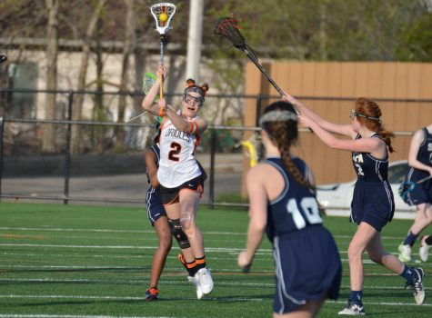 Girls' lacrosse wins first game of the season
