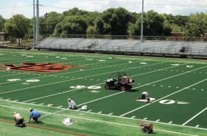 Girls' soccer opens season on new turf