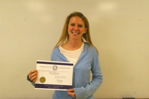 Teacher recognized for classroom technology