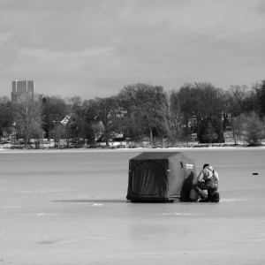 Ice fishing reels in interest