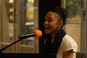 Sophomore Amira Warren sang in a performance on Feb. 7.