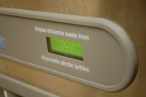 Water bottle filler reaches milestone