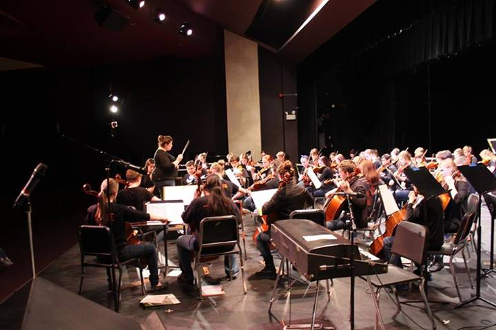 Orchestra's rock concert, held earlier this year