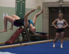Club gymnastics transition to the high school